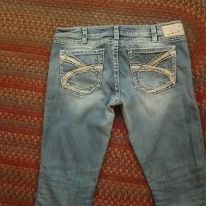Silver Jeans Twisted Bootcut (see measurements)